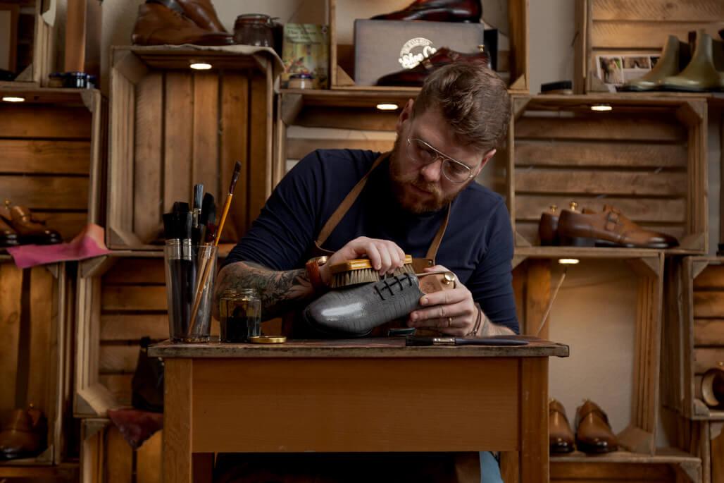 Craftsman in studio