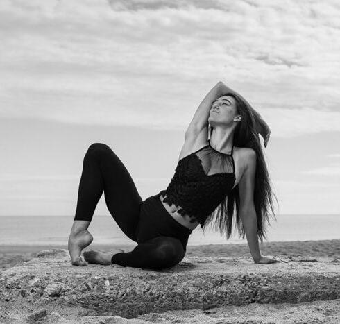 Outdoor Dance Portrait of Beth Nicholson