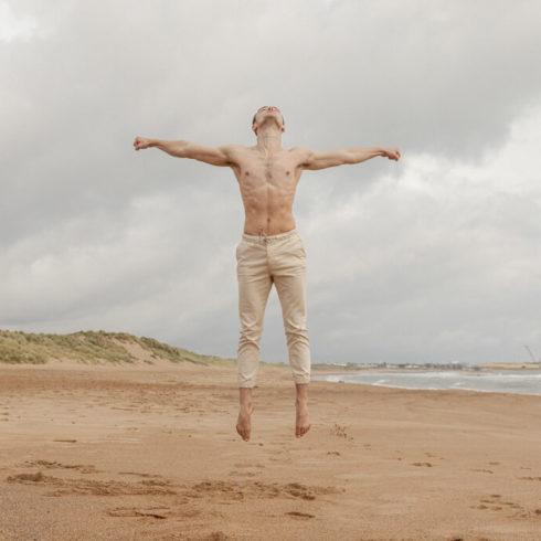 Outdoor Dance Portrait of Blaine Richardson