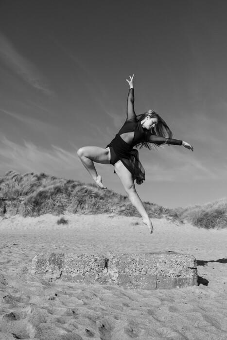Outdoor Dance Portrait of Ellie Bancroft