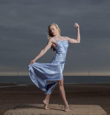 Outdoor Dance Portrait of Hayley Walker