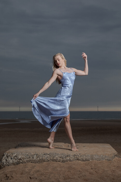 Outdoor Dance Portrait of Hayley Walker