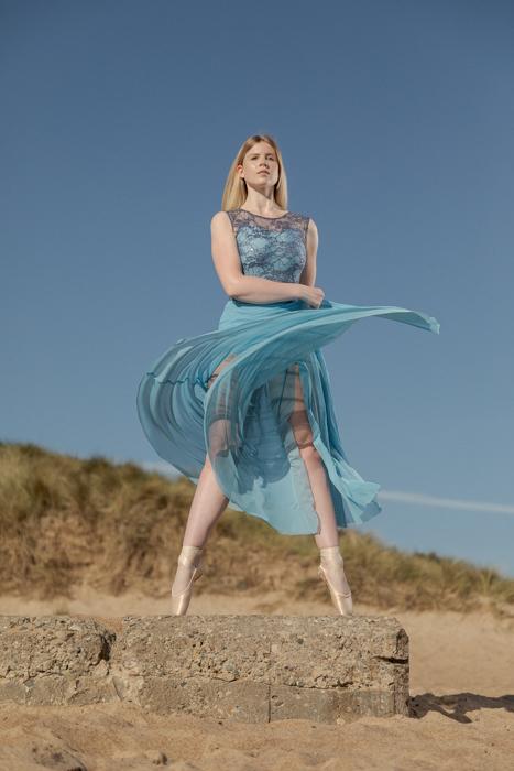 Outdoor Dance Portrait of Sophie Apedaile