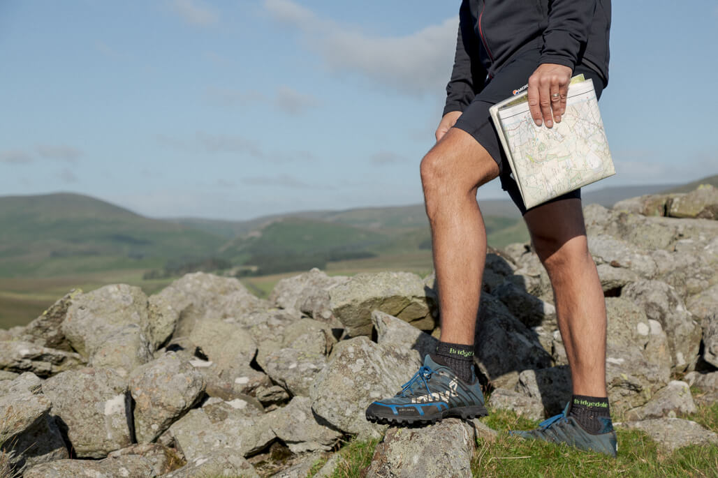 Trail Runner at The Cheviot Hills